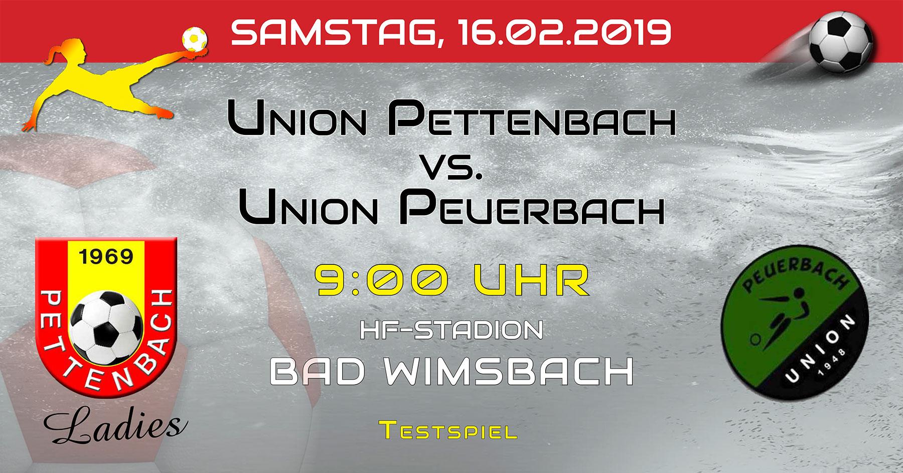 Testspiel Peuerbach