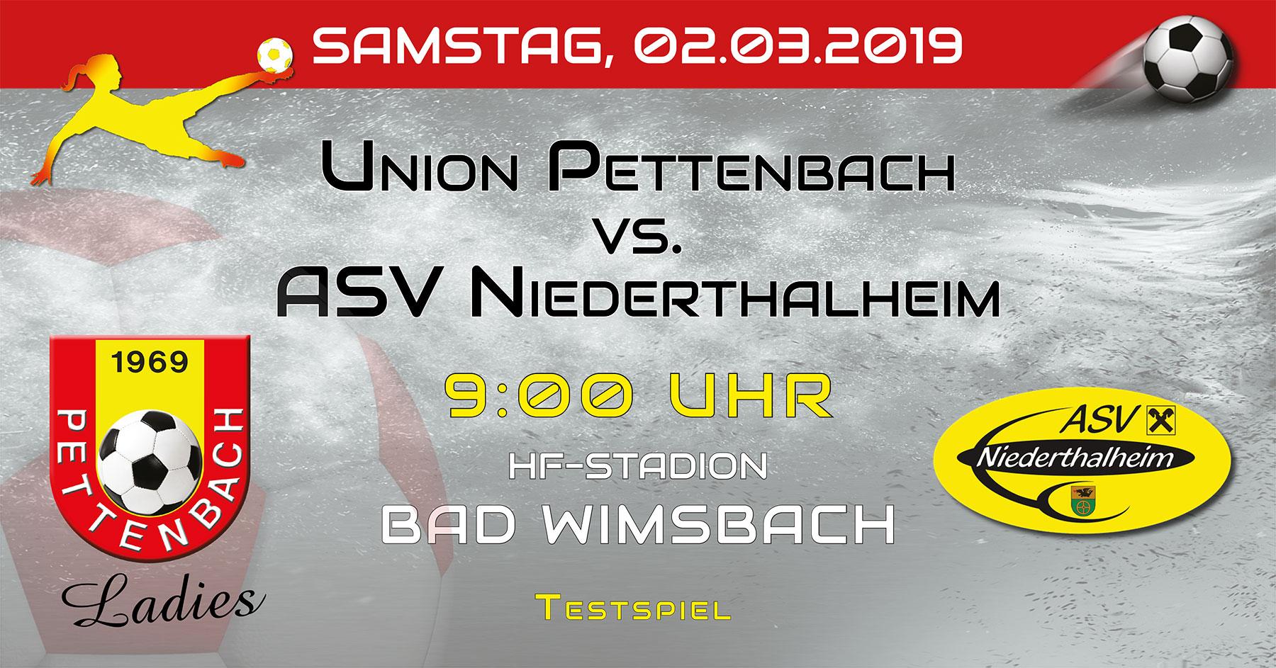 Testspiel Niederthalheim