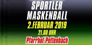Sportler Maskenball 2019 @ Pfarrhof Pettenbach | Oberösterreich | Österreich