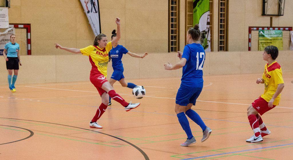 OÖ Hallenmeisterschaft Frauen (inkl. TV-Bericht)