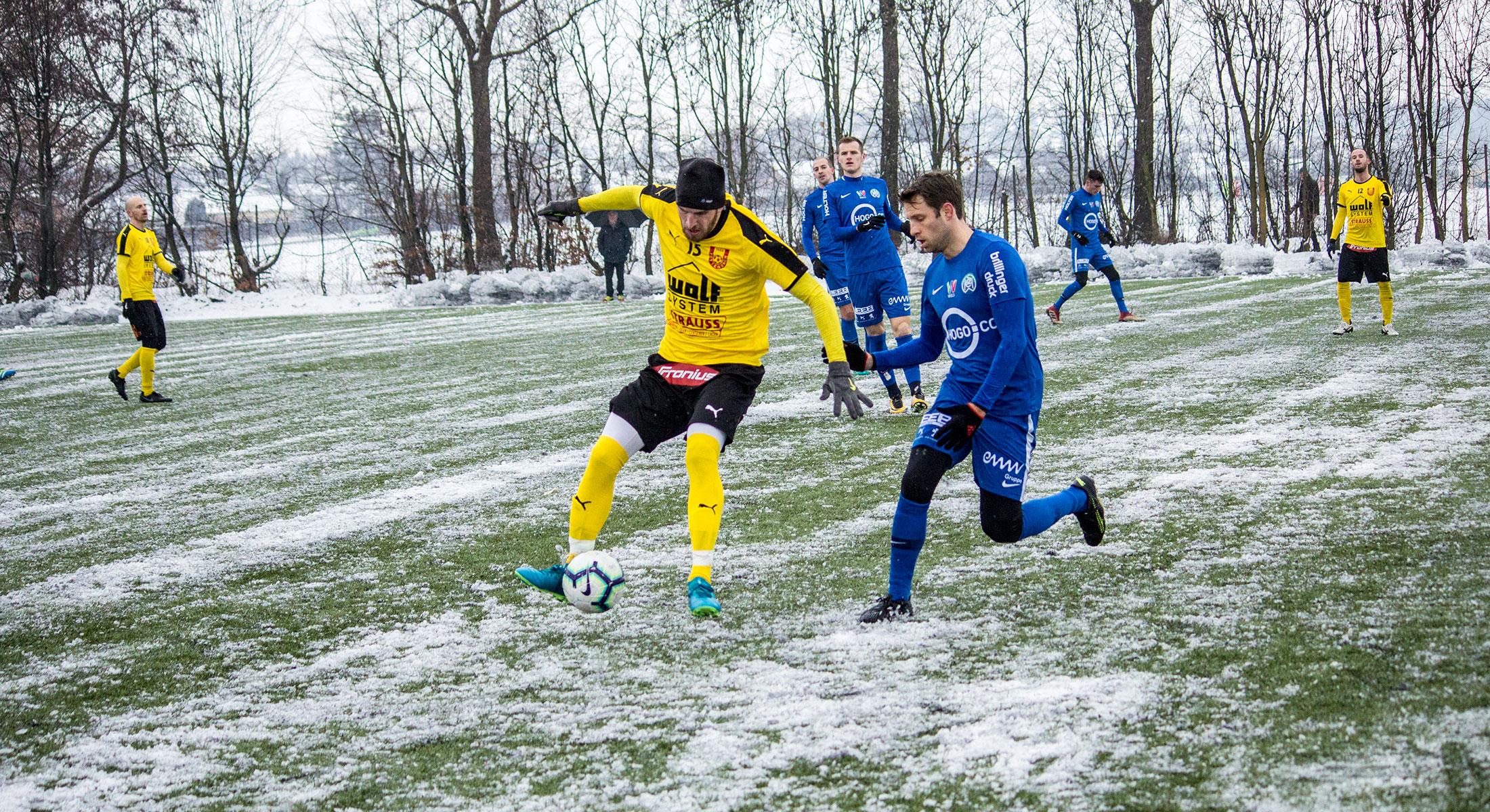 Vorbereitungsspiel gegen WSC Hertha