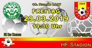 Runde 16 LLW 2018/19 @ HF Stadion Bad Wimsbach | Oberösterreich | Österreich