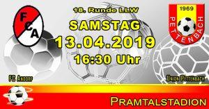 Runde 18 LLW 2018/19 @ Pramtalstadion | Andorf | Oberösterreich | Österreich