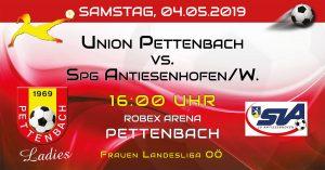 15. Runde FR LL 2018/19 @ ROBEX Arena Pettenbach | Oberösterreich | Österreich