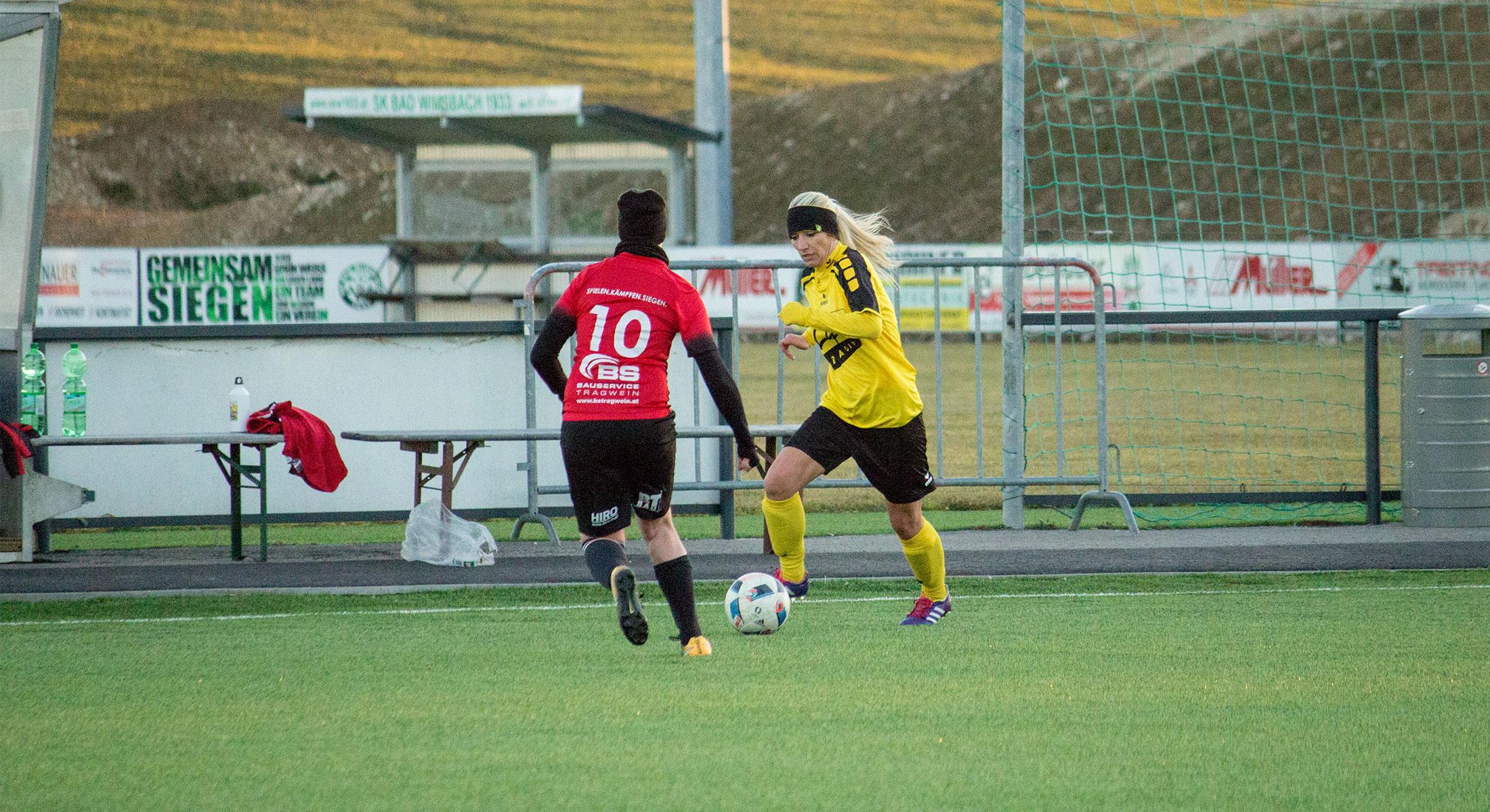Testspielsieg gegen Schweinbach/Hagenberg