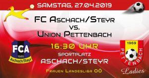 14. Runde FR LL 2018/19 @ Mayr Arena | Aschach an der Steyr | Oberösterreich | Österreich