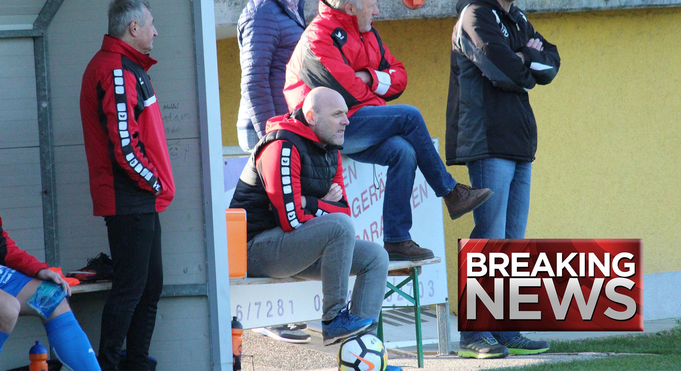 Verein trennt sich von Trainer Klug
