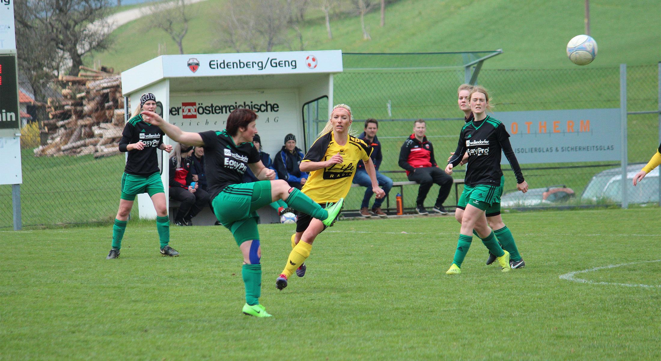 Auswärtssieg in Eidenberg