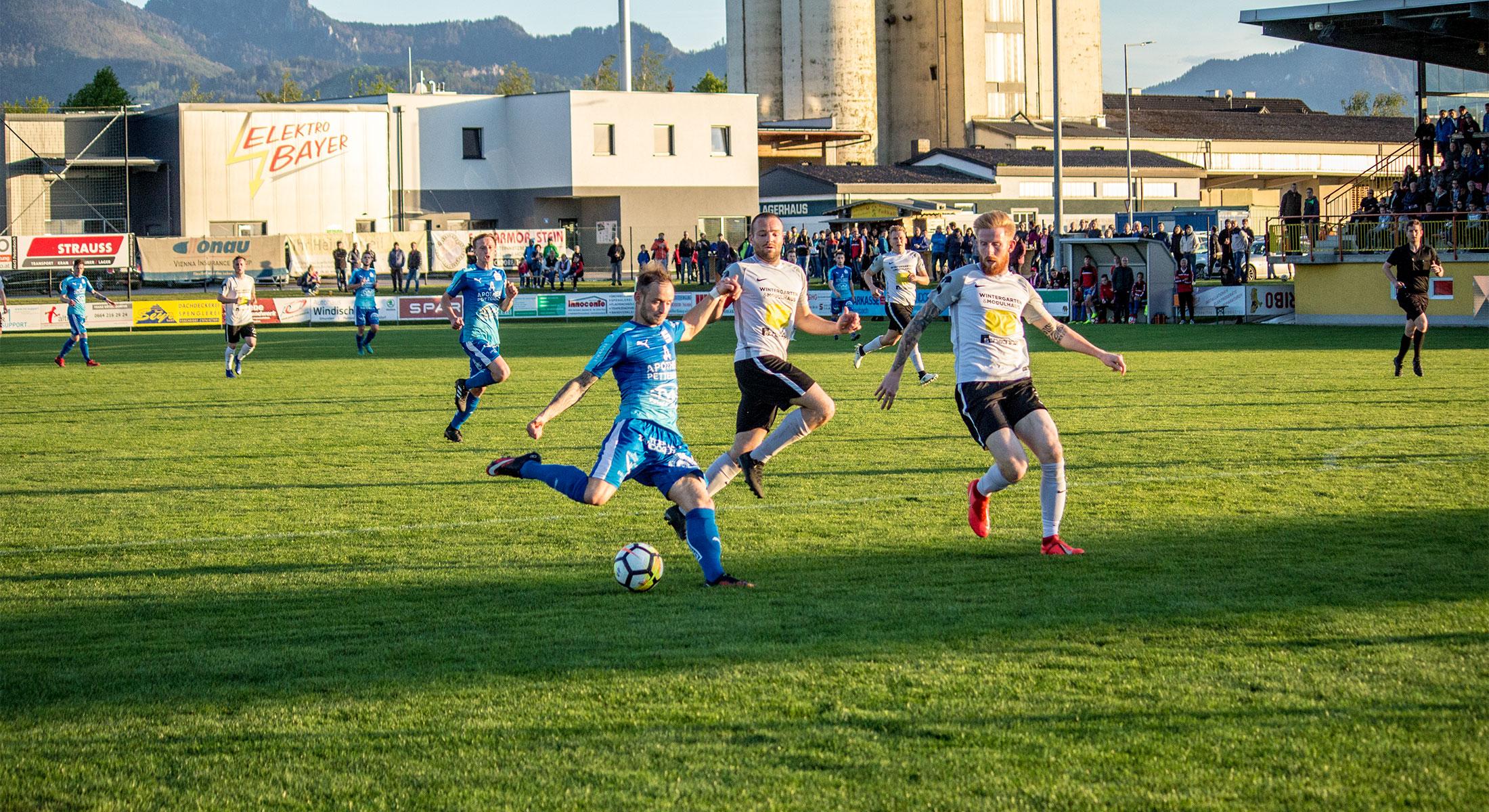 Remis im Derby gegen Vorchdorf
