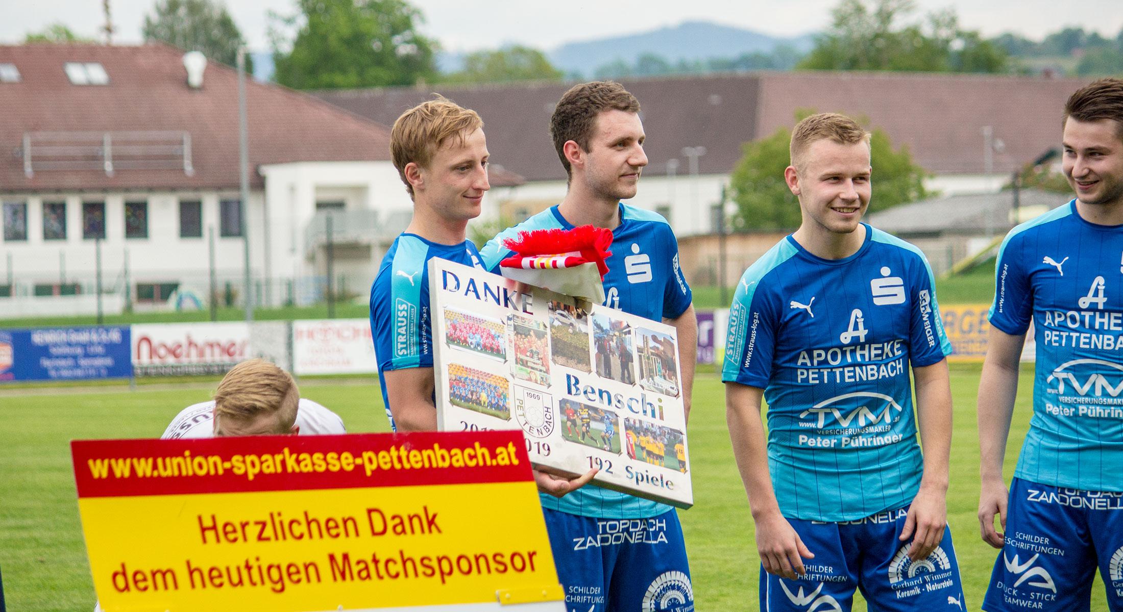 Letztes Heimspiel 2018/19 – DANKE Benschi