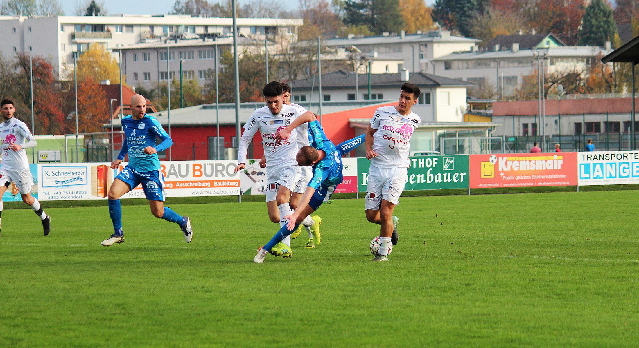 Kurioses Spiel gegen Braunau