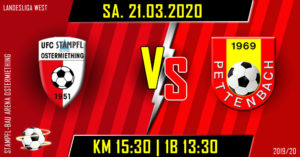 14. Runde LLW 2019/20 @ Stampfl-Bau Arena Ostermiething