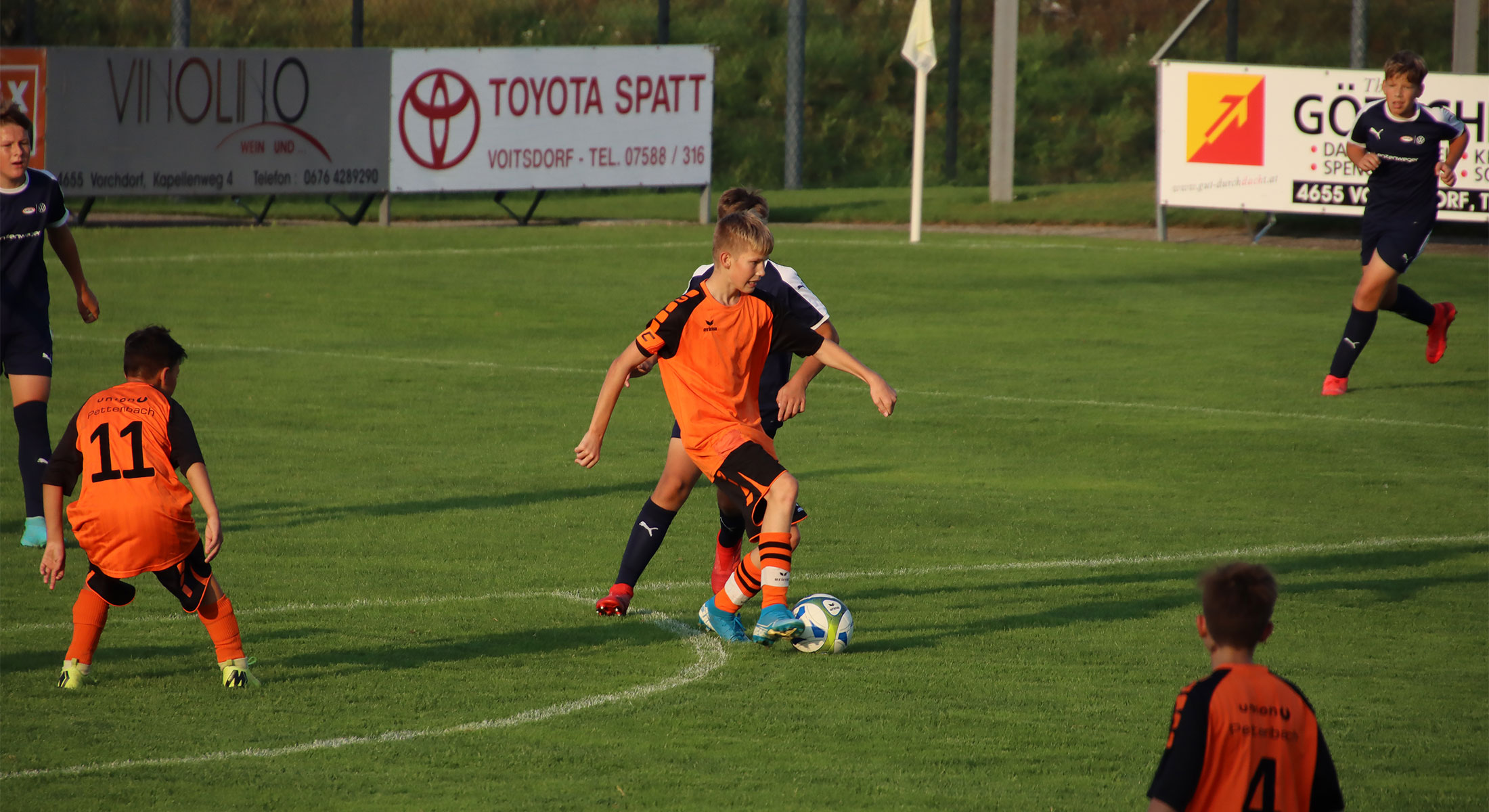 U14 Bittere Niederlage gegen Gampern