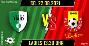 1. Runde Frauenklasse OÖ Süd/West @ Sportplatz Haid