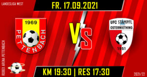 6. Runde Landesliga West @ ROBEX Arena Pettenbach