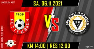 13. Runde Landesliga West @ ROBEX Arena Pettenbach