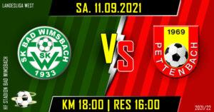5. Runde Landesliga West @ HF Stadion Bad Wimsbach