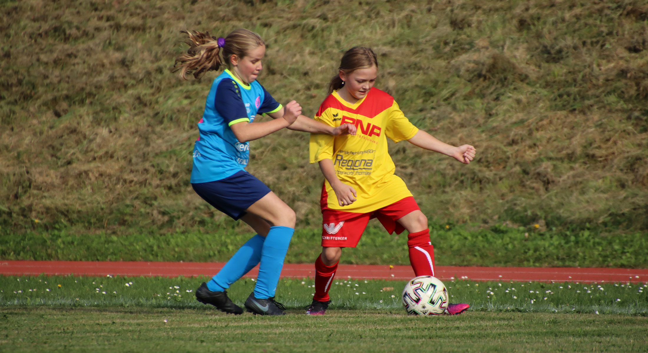 U14 Mädls Test in Haidershofen